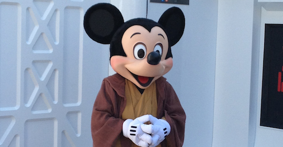 Jedi Mickey at Star Wars™ Weekends
