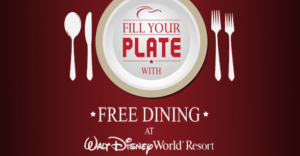 Disney Free Dining 2014 Available for Select Fall Dates