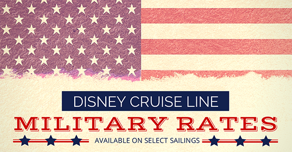 Disney Cruise Line Announces Military Rates