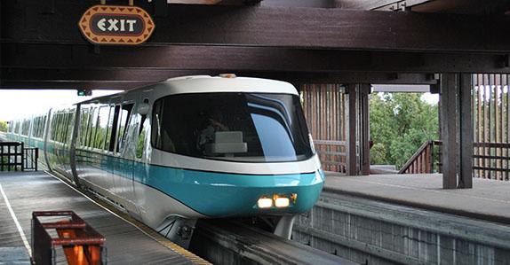 Scheduled Maintenance to Affect Walt Disney World® Monorail System