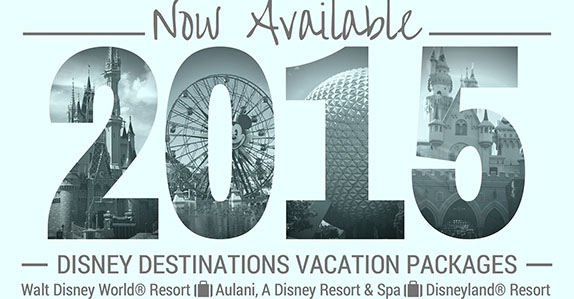 2015 Vacation Packages Now Available