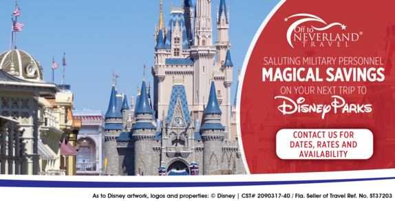 2014 – 2015 Military Discounts At Walt Disney World® and Disneyland® Resorts
