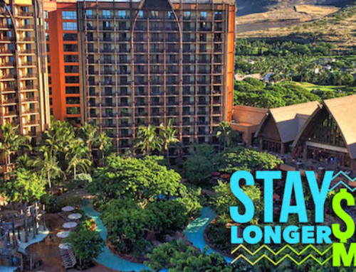 Stay Longer Save More Late 2017 at Aulani