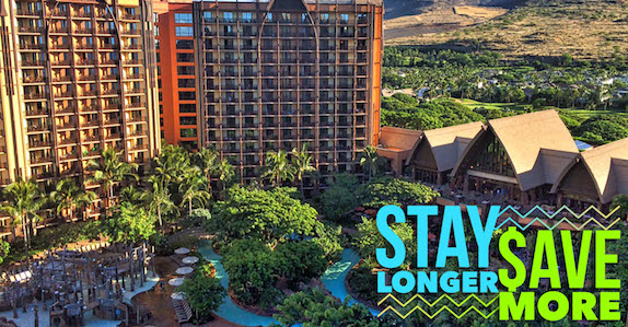 Aulani Stay Longer Save More