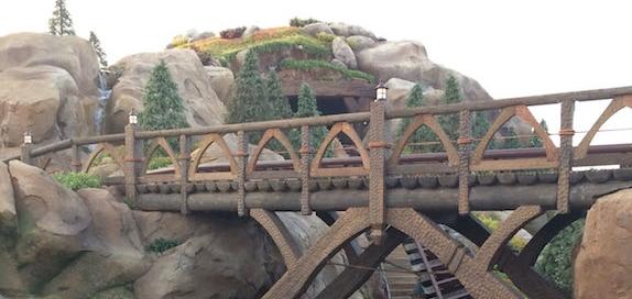 Seven Drawfs Mine Train