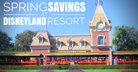 Spring Savings at Disneyland® Resort