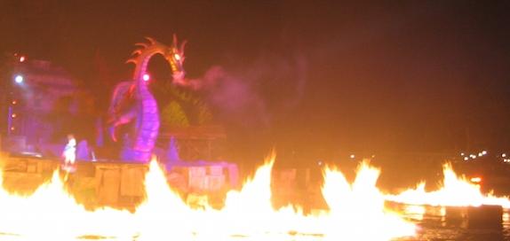 Fantasmic at Disneyland Park