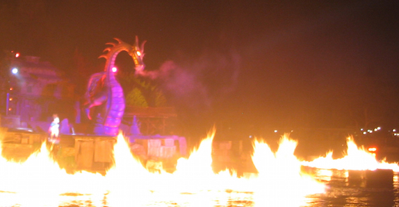 Fantasmic at Disneyland Park