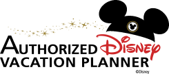 Logo to signify we have been designated an Authorized Disney Vacation Planner