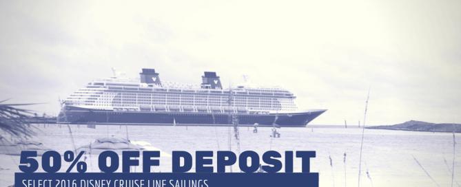 DCL 50 Off Deposit