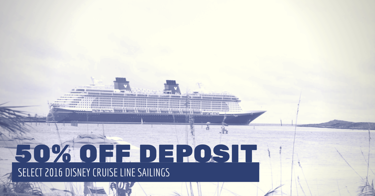 DCL 50 Off Deposit