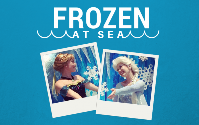 Disney Cruise Line Brings Frozen Fun to Sea