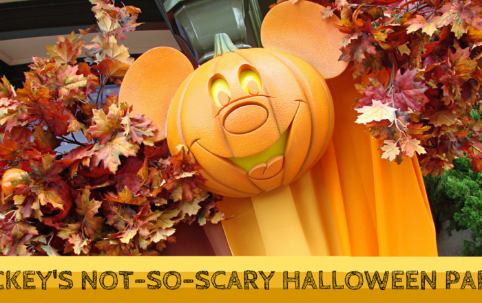 2015 Mickey's Not-So-Scary Halloween Party Dates Available
