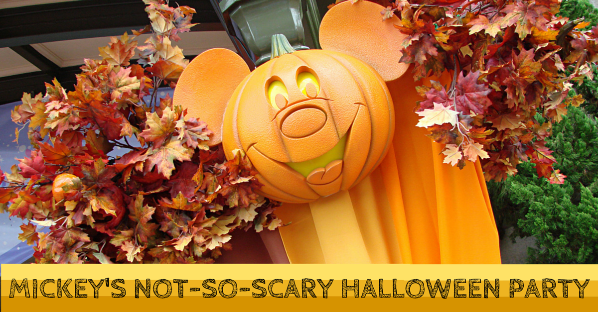 2016 Mickey's Not-So-Scary Halloween Party Tickets Now Available