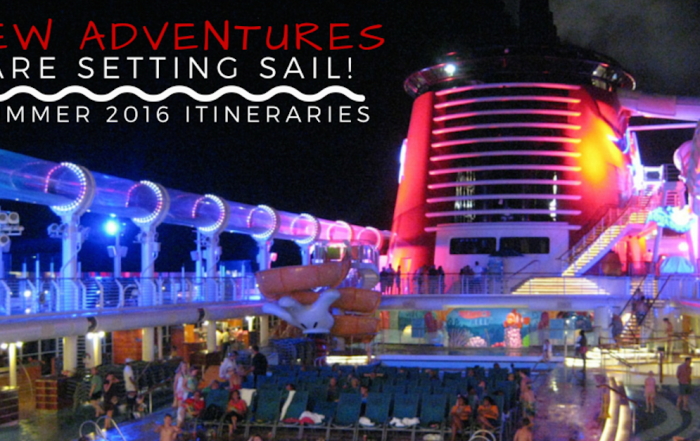 New Itineraries and Ports for Disney Cruise Line in Summer 2016
