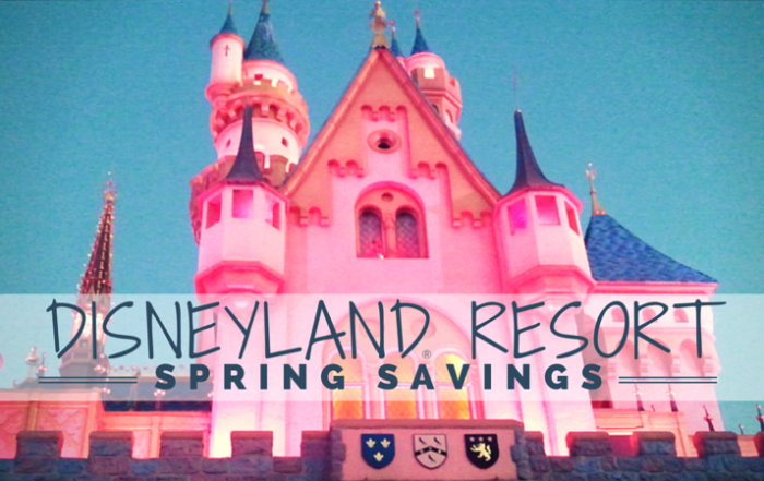 Spring 2015 Disneyland® Resort Savings