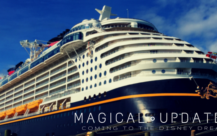 Magical Enhancements Coming to Disney Dream