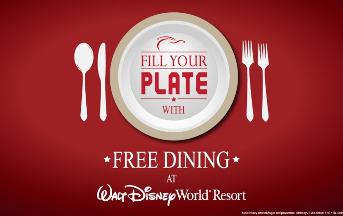 Disney Free Dining 2015 Available for Select Fall Dates