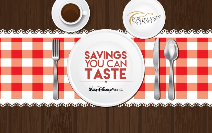 Disney Free Dining 2016 Available for Select Fall Dates