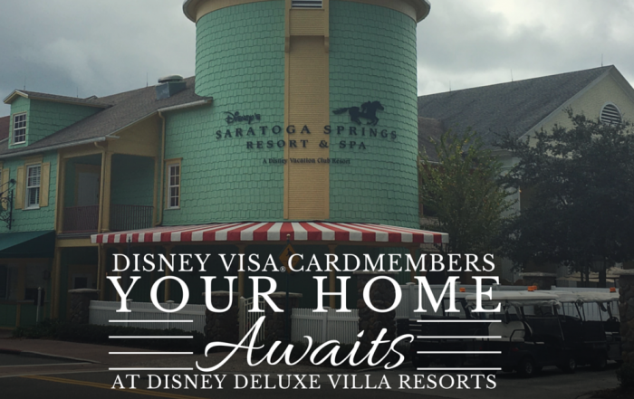 Disney Visa® Cardmembers: Save at Select Disney Deluxe Villa Resorts