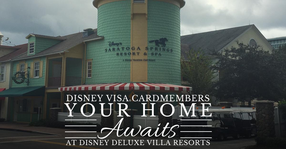 Disney Visa Villa Promo
