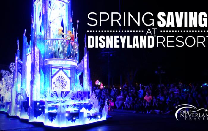 Spring 2016 Savings at Disneyland® Resort