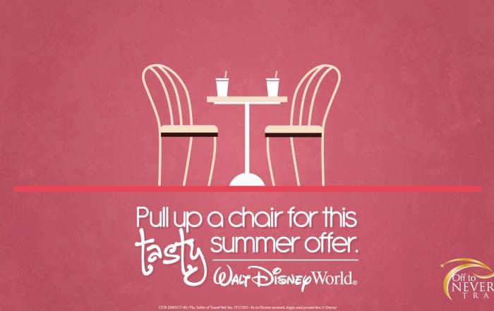 Walt Disney World® Resort 2016 Summer Meal Offer