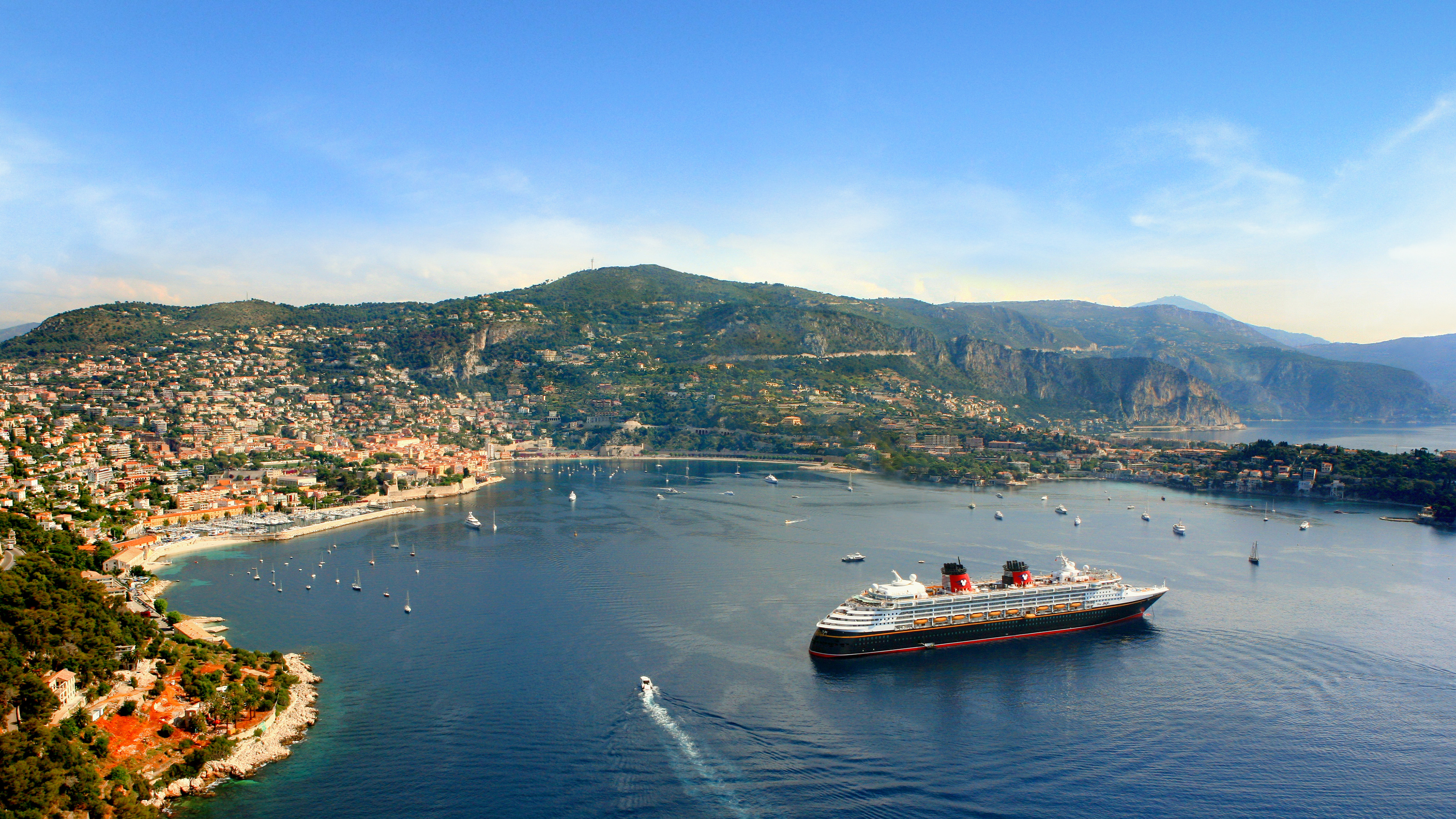 Disney Magic sailing in Europe