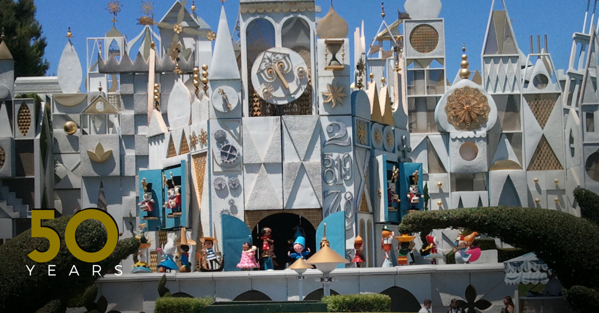 "50 Years of ""it's a small world®"""