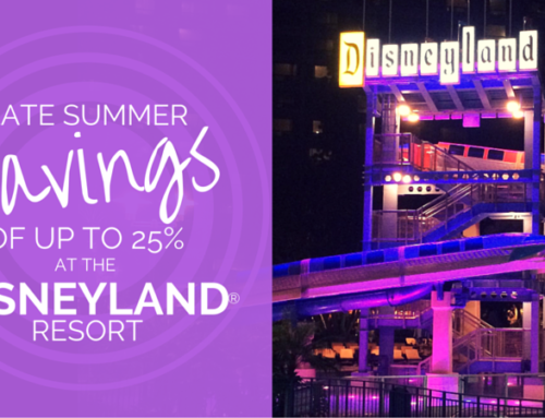 Late Summer Disneyland® Resort Hotel Discount
