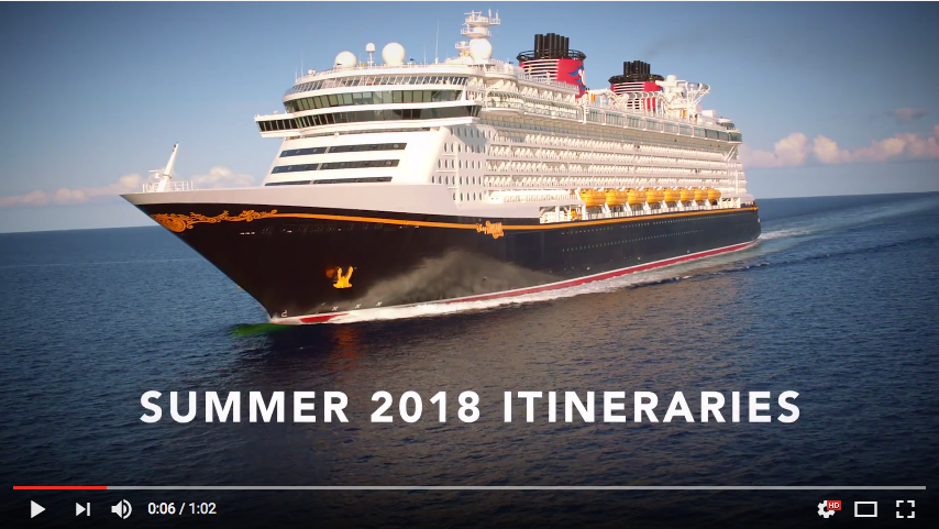 DCL Summer 2018 Itineraries – Off to Neverland Travel ...