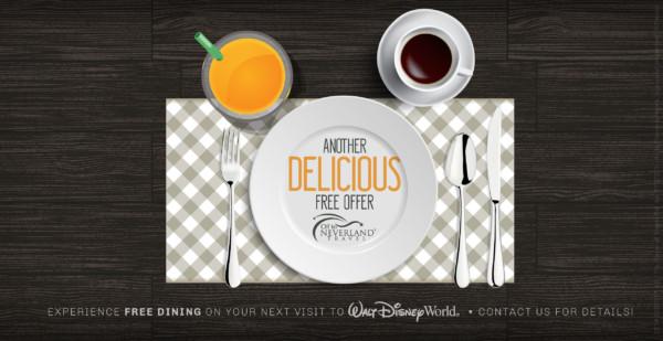 Disney Free Dining 2019