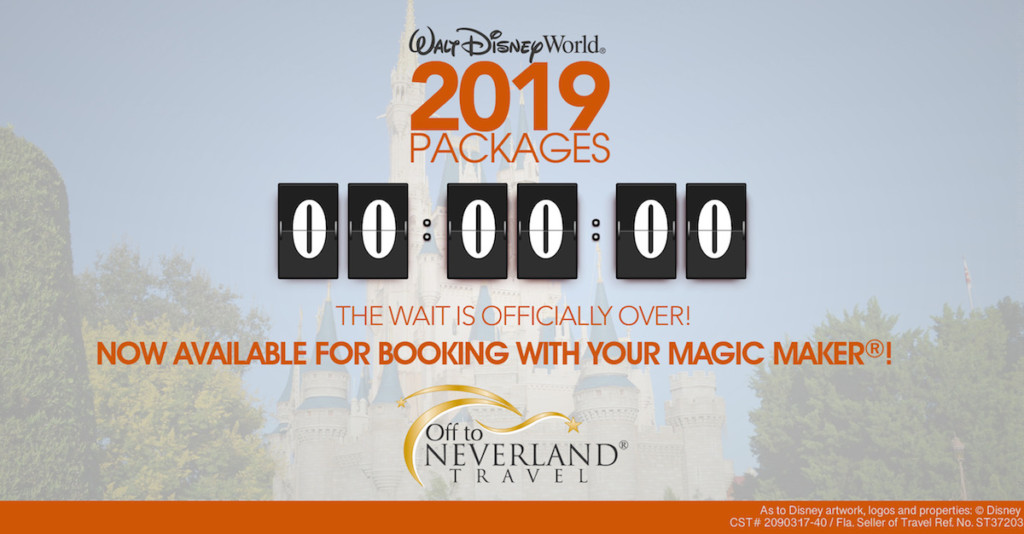 2019 Walt Disney World® Resort Vacation Packages Now ...