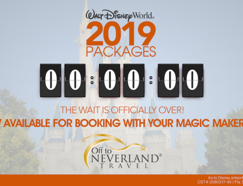 2019 Walt Disney World® Resort Vacation Packages Now Available