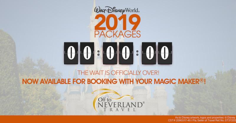 2019 Walt Disney World Packages