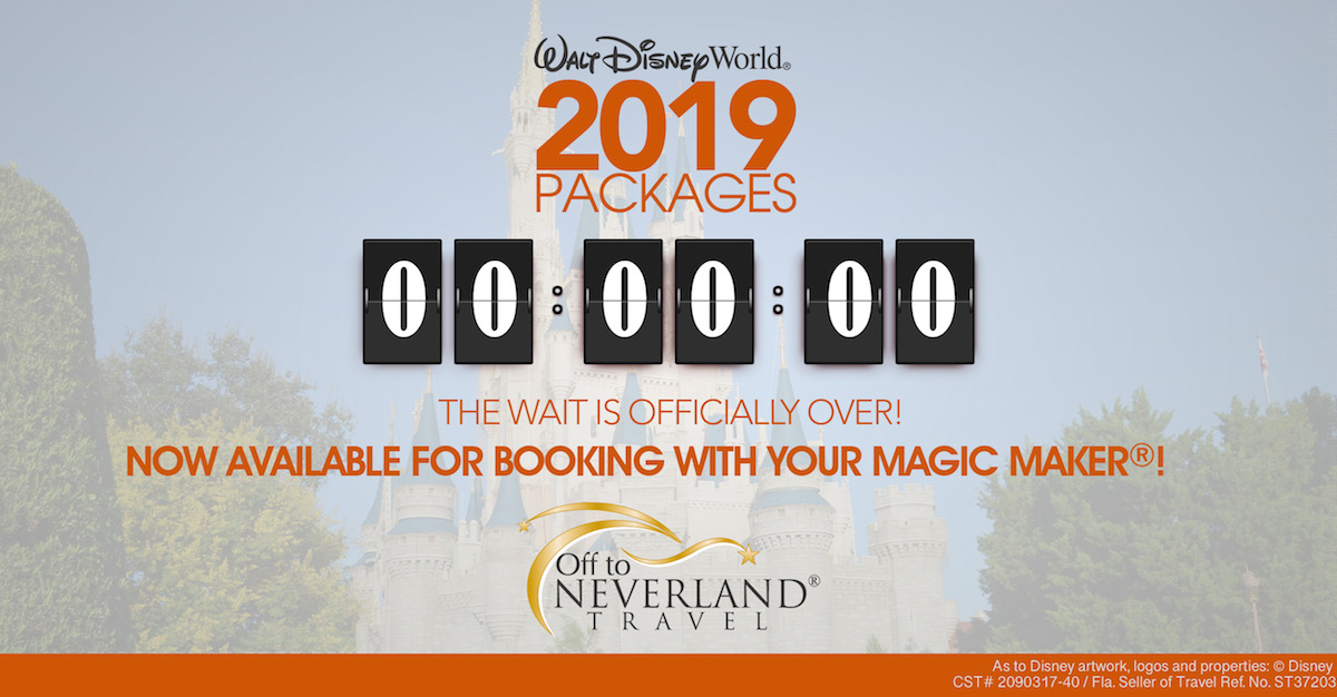 2019 Walt Disney World Packages