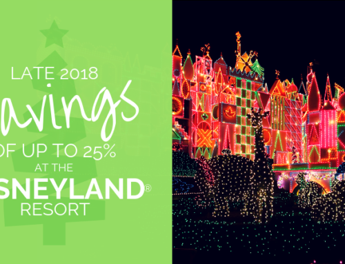 Late 2018 Savings at Disneyland® Resort