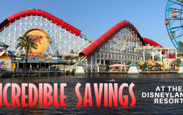 Incredible Savings at the Disneyland Resort