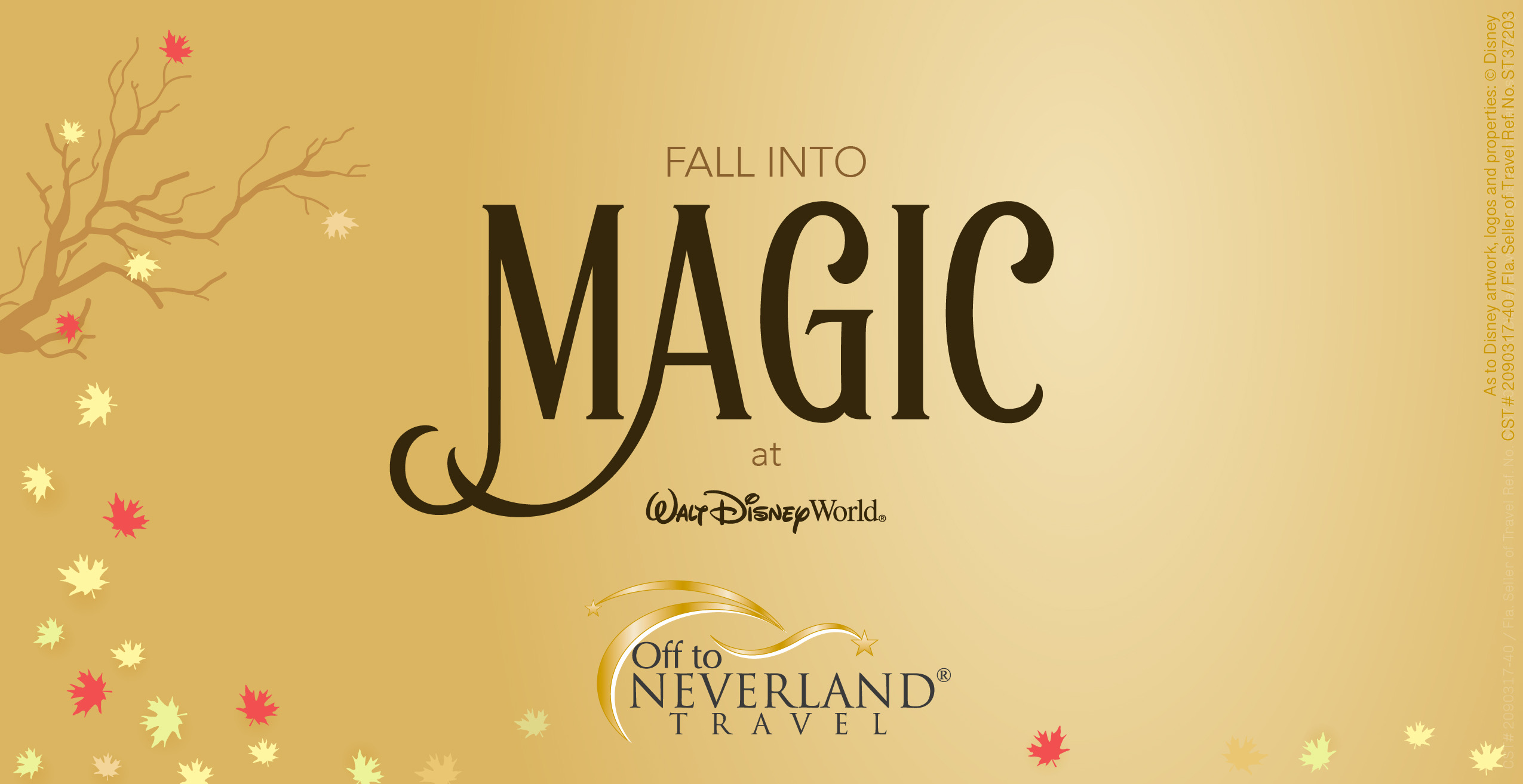 Ultimate Disney Fall into Magic Package