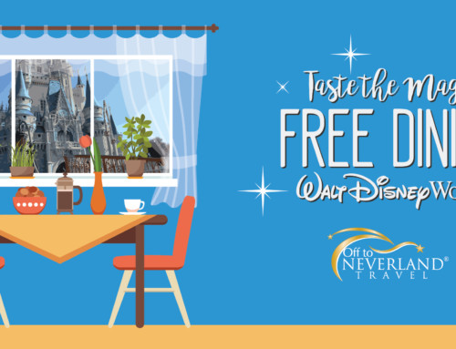 Disney Free Dining 2020 Available for Select Dates