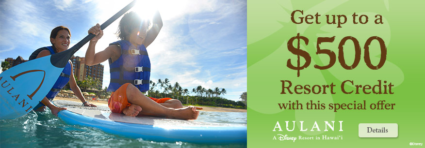 Visit Aulani This Spring and Save