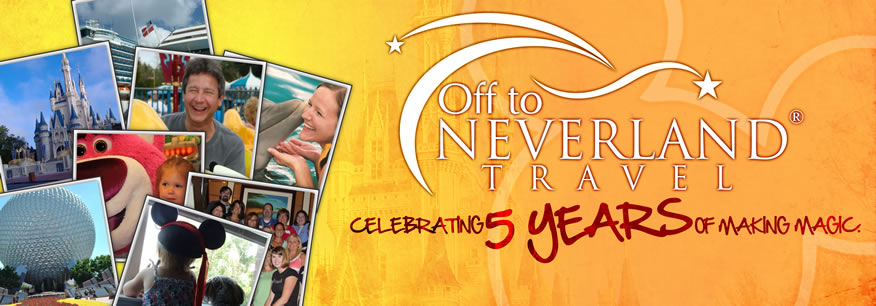 Off to Neverland Travel® Celebrates 5 Years!